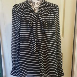 Vince Camuto stripped blouse